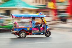 kørsel i Thailand