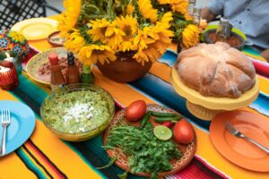 Mexicansk mad med massere af farver